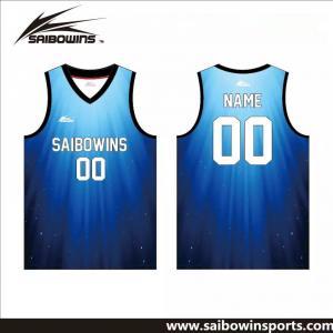 2016OEM Blue Jersey European Basketball Jerseys New Style Basketball Jersey