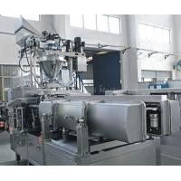 Quality Full Automatic Premade Bag Packing Machine / Printing Machine Air Consumption 0.5NL / Min for sale