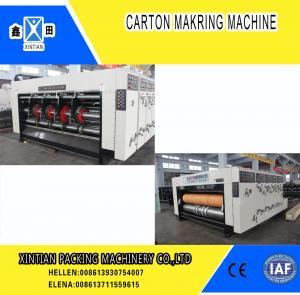 China High Precision Carton Making Machine / Paper Die Cutting Machines , 2800mm Inboard Width on sale