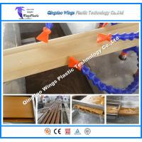 Quality High Speed Automatic WPC Profile Production Line Making Machine for Floor Decking Pallet for sale