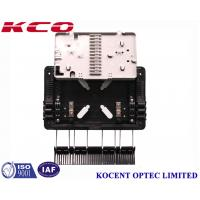 Quality Aerial 1*8 PLC Fiber Optic Splitter Box Outdoor Waterproof KCO-GJS08 For FTTH GPON ABS PP for sale
