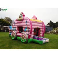 Quality Princess Carriage Inflatable Bouncy Castle With Slide For Kids Party for sale