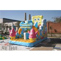 Quality inflatable rainforest slide,inflatable playing slide,colorful clown commercial inflatable slides for sale