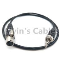 Quality SONY D11 Camera Audio Cable 3.5 Audio Plug Conversion 3.5 Pin Audio Plug To 3 Pin MINI XLR for sale