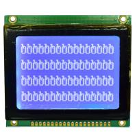 128*64 STN Graphic LCD Display Module , Dot Matrix Type Serial LCD Module