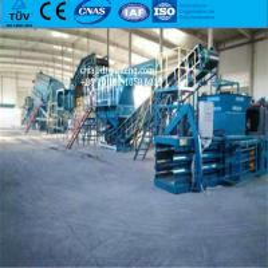 China hydraulic waste sorting system MSW urban sorting equipment RDF , SRF, fertilizer on sale