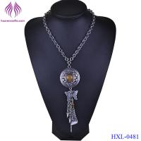 Quality Fashion Jewelry Bohemia Ethnic Style Long Tassel Pendant Chain Necklace For Women for sale