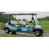 Quality Electric Vehicle 6 Seater Golf Cart , Multi Passenger Golf Carts For Club for sale