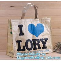 Quality Reusable Advertising PP Woven Shopping Bag,Custom Laminated Shopping PP Woven Bag Promotional Tote Bag, bagplastics pack for sale