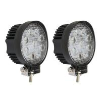 Quality 27W Round Spot LED Work Light Driving Fog Light  IP67  thicker profile 11.5*11.5*5cm 10-30V 9LEDS for sale