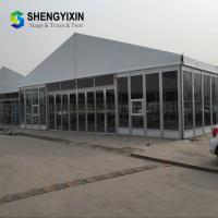Hot Sale Hight Quality 20x40 Aluminium Frame Clear PVC Cover Sheet Party Tent, 10x50m Tent