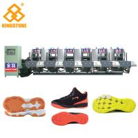 Quality Semi Automatic One Color Rubber Sole Making Machine For High Grade Leather Shoes for sale