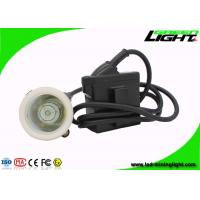 Quality GL5-A Corded Cap Lamp 4000lux  IP67 with 22hours for Industrial and Emergency for sale