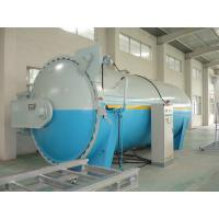 Composite Automatic Glass Industrial Autoclave Pressure Vessel , High Efficiency
