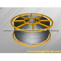 Quality Anti-Twist Braided Steel Rope complete stability to rotation for sale
