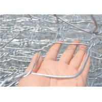 Quality Zinc Coated Gabion Box Double Twisted Hexagonal Gabion Wire Mesh for sale