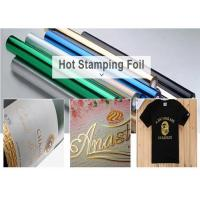 China Metallic Gold&Silver Foil/Hot Stamping Foil/Heat Press Foil/Heat Transfer Foil For Silver&Gold Foil Label/Sticker/Logo on sale
