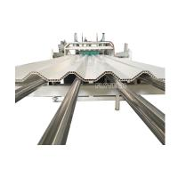 Quality HOLLOW PVC CORRUGATED ROOF SHEET MAKING MACHINE / ROOF TILE EQUIPMENT / PVC SHEET EXTRUDER for sale