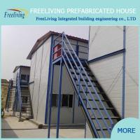 China ready made house/prefabricated steel frame house low cost price on sale
