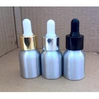 Whole sell 20ml dropper aluminium bottles for essential oil,aluminium bottles for liquids