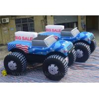 Quality Fire Retardant Inflatable Model Giant Inflatable Truck With Advertising Slogan for sale