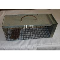China Warehouse Pest Control Traps , Low Carbon Steel Live Silver Cage Mouse Trap on sale