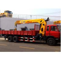 Quality Best Sales 14 Ton Telescopic Boom Truck Mounted Crane Driven By Hydraulic, 35 T.M for sale