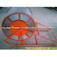 China Cable Drum Lift Frame AntiTwist Rope Steel Reels supplier wholesale