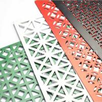 Quality Decorative hole aluminum perforated sheet for sale