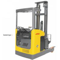 Quality Seated Type 1 Ton Electric Reach Fork Truck Counterbalanced For Warehouses for sale