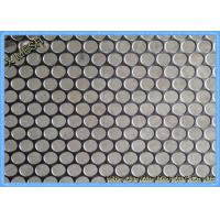 Quality Heavy Duty Perforated Metal Mesh Panel , 3mm Perforated Aluminium Sheet Durable for sale