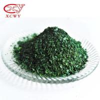 Quality High quality malachite green crystal basic green 4 basic green dyes paper wood egg tray mosquito dyestuff for sale