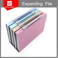 China Large capacity 24 pockets handmade expanding file folder with pp dividers on sale