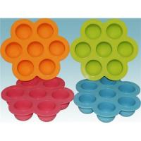 Quality flower shape silicone egg container for sale