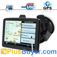 "China The Explorer - 5"" Touchscreen Portable GPS Navigator + Multimedia Player on sale"