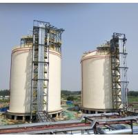 Quality Metal Full Capacity Cryogenic LNG Storage Tanks 2X10000m3 LNG Double Layers for sale