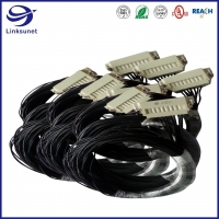Quality Gaming machines Wiring Harness with Han A 16A 16pin Grey Rectangular Connectors for sale