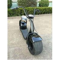 Quality F / R V Brake Electric Motorcycle Bike 60V 1000W E - Scooter For Park Road for sale