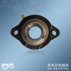 Custom Cast Iron Pillow Block Bearing For Chemical Machinery SBLF205-16