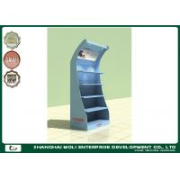 Quality OEM & ODM oil bottle rack free standing shelf for Retail shop display for sale