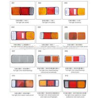 Electric tricycle rectangle LED tail stop light
