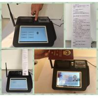 China Multi Language Mobile Payment Solutions , Wireless Payment Terminal  for Credit Card Merchant Services wholesale