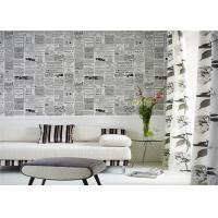 China Mediterranean European Style Wallpaper  Contemporary And Contracted TV Wall Wallpaper For Children Room wholesale
