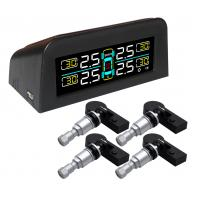 China Solar Vehicle Tire Pressure Monitoring System TPMS 24 hours monitoring built-in Sensor on sale