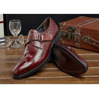 Quality Most Comfy Classic Dress Shoes Daily Footwear With Welt Outsole Antiskid for sale