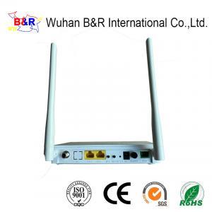 Quality 2 Port 1GE 1FE CATV 2.4G WIFI SC APC Interface GPON ONT for sale