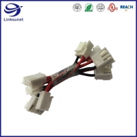 Quality Custom Wiring Harness with 3.96mm VH Latch Lock Crimp Female Connector for sale