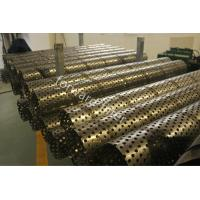 China Durable Sand Control Screens Mesh For Oil & Gas Industry , Perforated Stainless Steel Pipe on sale