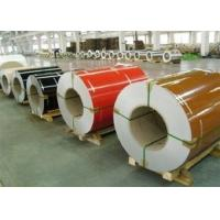 Quality Wrinkle PPGI Steel Coils , Aluzinc Steel Coil For Roofing External Wall for sale