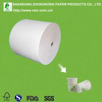 Quality PE coated paper for cold drink cups for sale